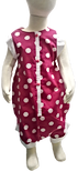 Cotton Dot Pink onesie
