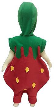 Strawberry onesie