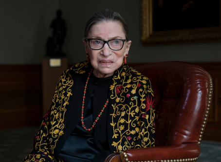 A Tribute to 'The Notorious RBG', Ruth Bader Ginsburg