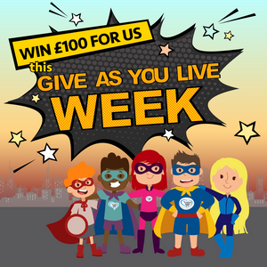 Raise funds for Children of Colombia with Give As You Live this week to be in with a chance of winning an extra £100