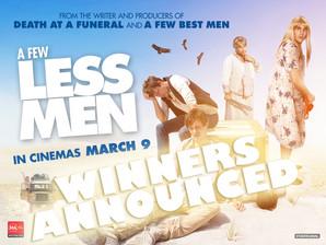 WINNERS ANNOUNCED!!! - A Few Less Men Movie Tickets