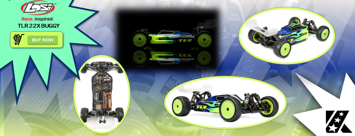 TLR 22X 4WD Buggy