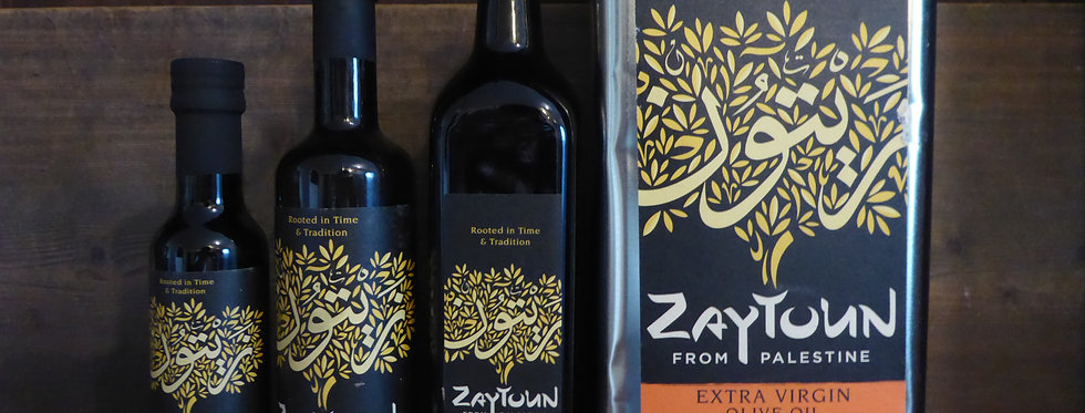 Zaytoun Extra Virgin Olive Oil