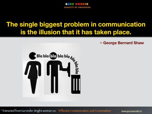Biggest problem with communication