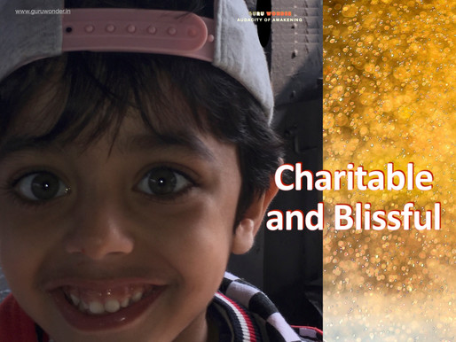 Charitable and Blissful