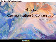 Effective Communication & Conversation -