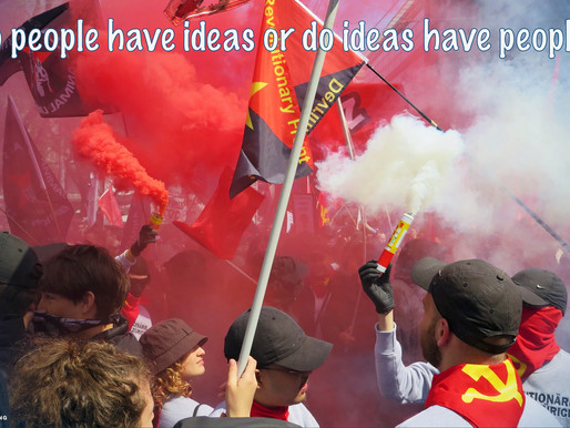 Do people have ideas or ideas have people?