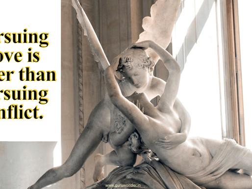 Pursuing love ..