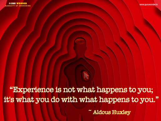 What really is Experience, and its importance to Success?