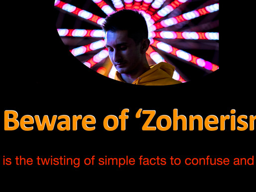 Fooled by 'Zohnerism'