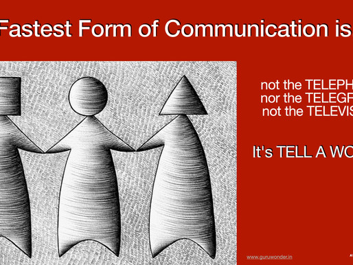 The fastest form of communication is,
