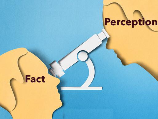 Perception lasts longer than fact