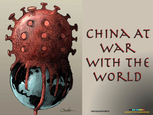 China at war with the world.