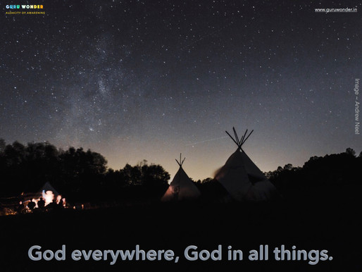 God in all things - Chief Seattle