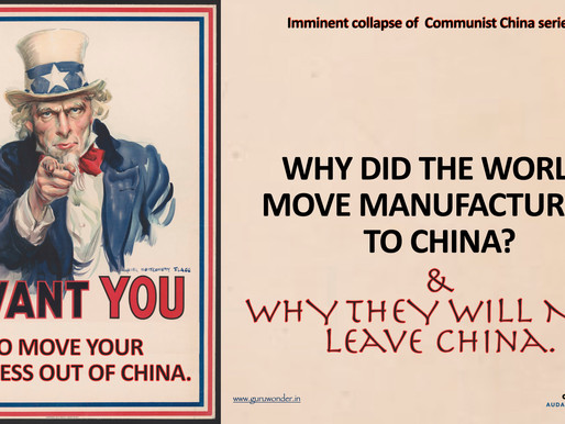 Foreign companies want to move their manufacturing plants out of China, but ....