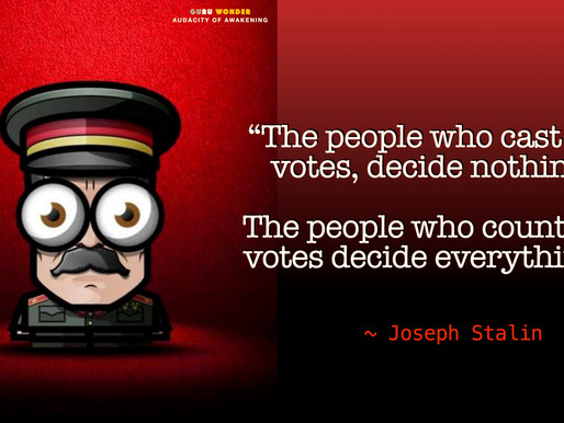 Learning about voting from Joseph Stalin