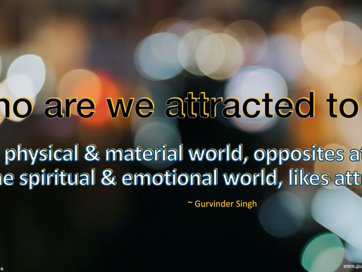 Who are we attracted to?