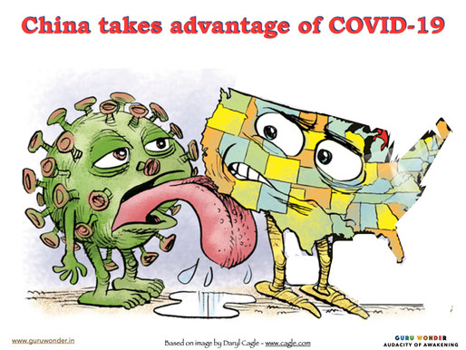 The great economic coup by China from Coronavirus?
