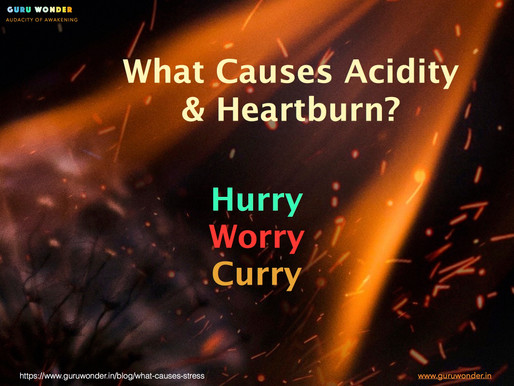 What causes Acidity and Heartburn?