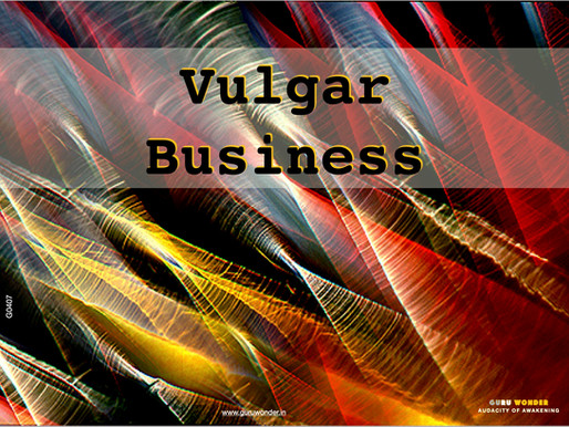 Vulgar Business