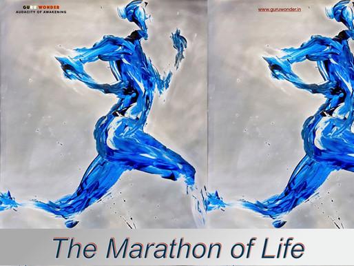 Marathon of life.