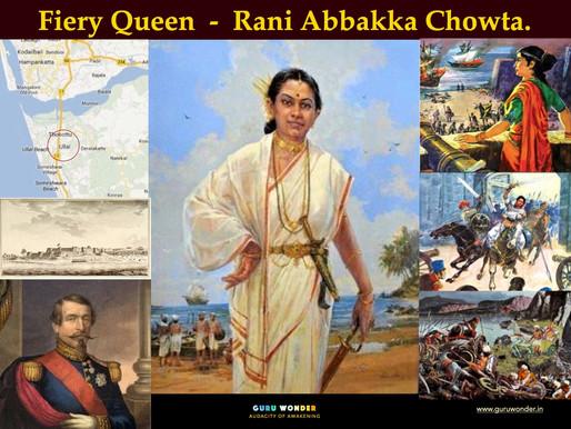 Fiery Queen - Rani Abbakka Chowta