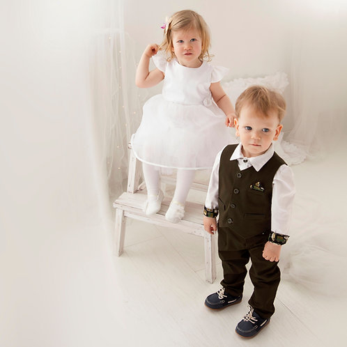 OLDTIMERS, 2 piece First Communion Outfit for Boy
