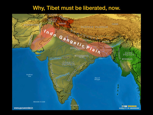 Why, Tibet must be liberated, now.