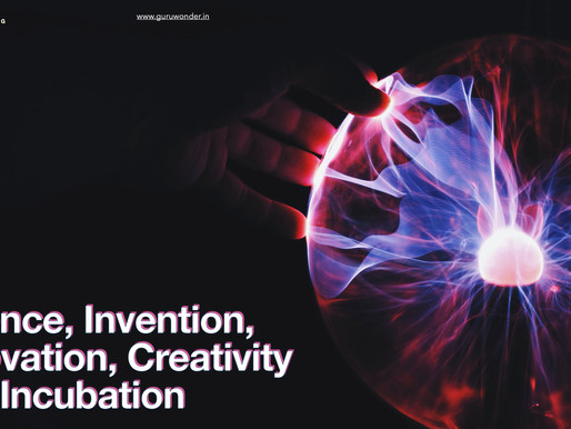 Innovation, Creativity, Invention and Business Incubation