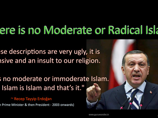 There is no Moderate or Radical Islam