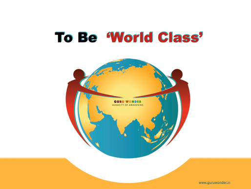 Want to become World-Class?