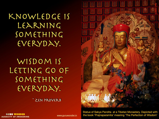 Knowledge and Wisdom, what's the difference?