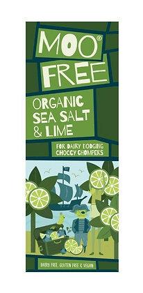 Moo Free Organic Sea Salt & Lime Bar