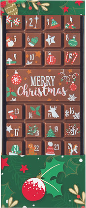 Decorated Advent Calender