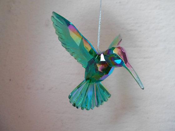 Peacock Humming Bird Decoration