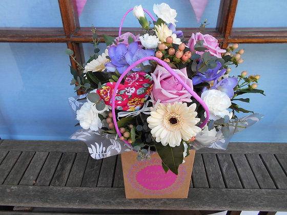 Mother's Day Bag Arrangement - Medium