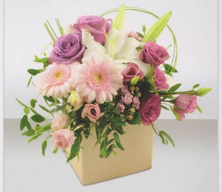Medium Pastel Pink Arrangement