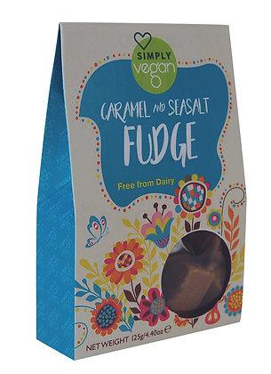 Caramel and Seasalt Fudge