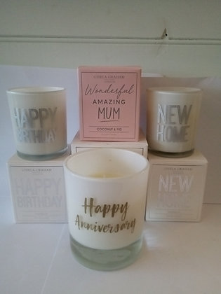 Soya Scented Candles