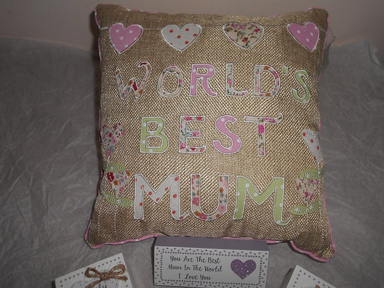Mum cushion.