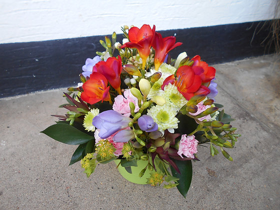Pot of Mixed Flowers
