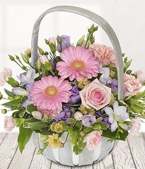 Pastel Delights Basket