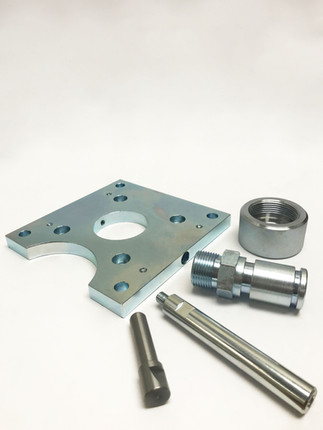 Zinc and Passivated Mild Steel Components