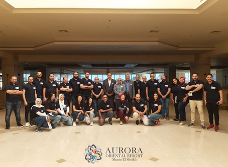 Aurora Oriental Resort hosts Pescado Pharmaceutical conference in Sharm El Sheikh.