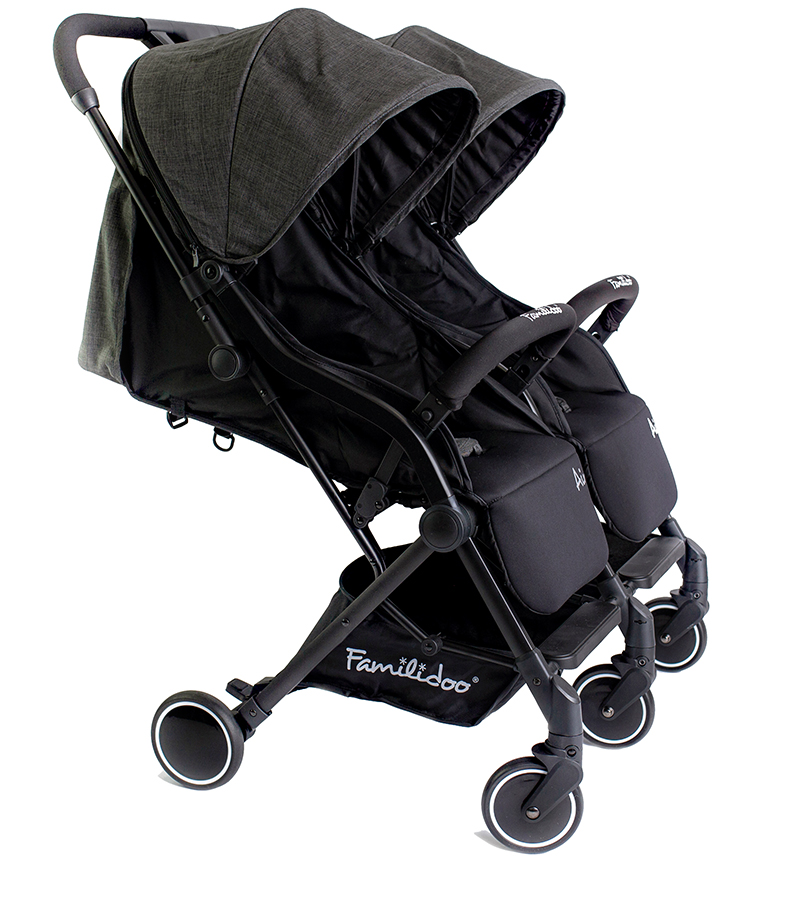 Familidoo Air Buggy Twin Denim Grey