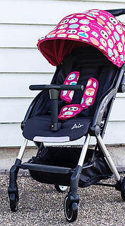 Familidoo Air buggy in Rabbit Pink