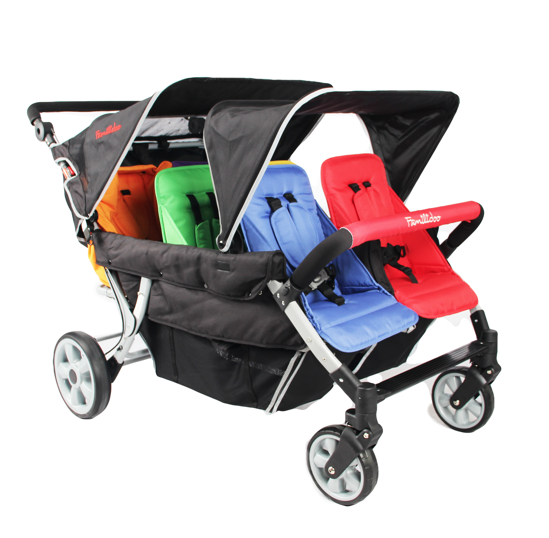 DSJ06FRL-Familidoo 6 seat pushchair