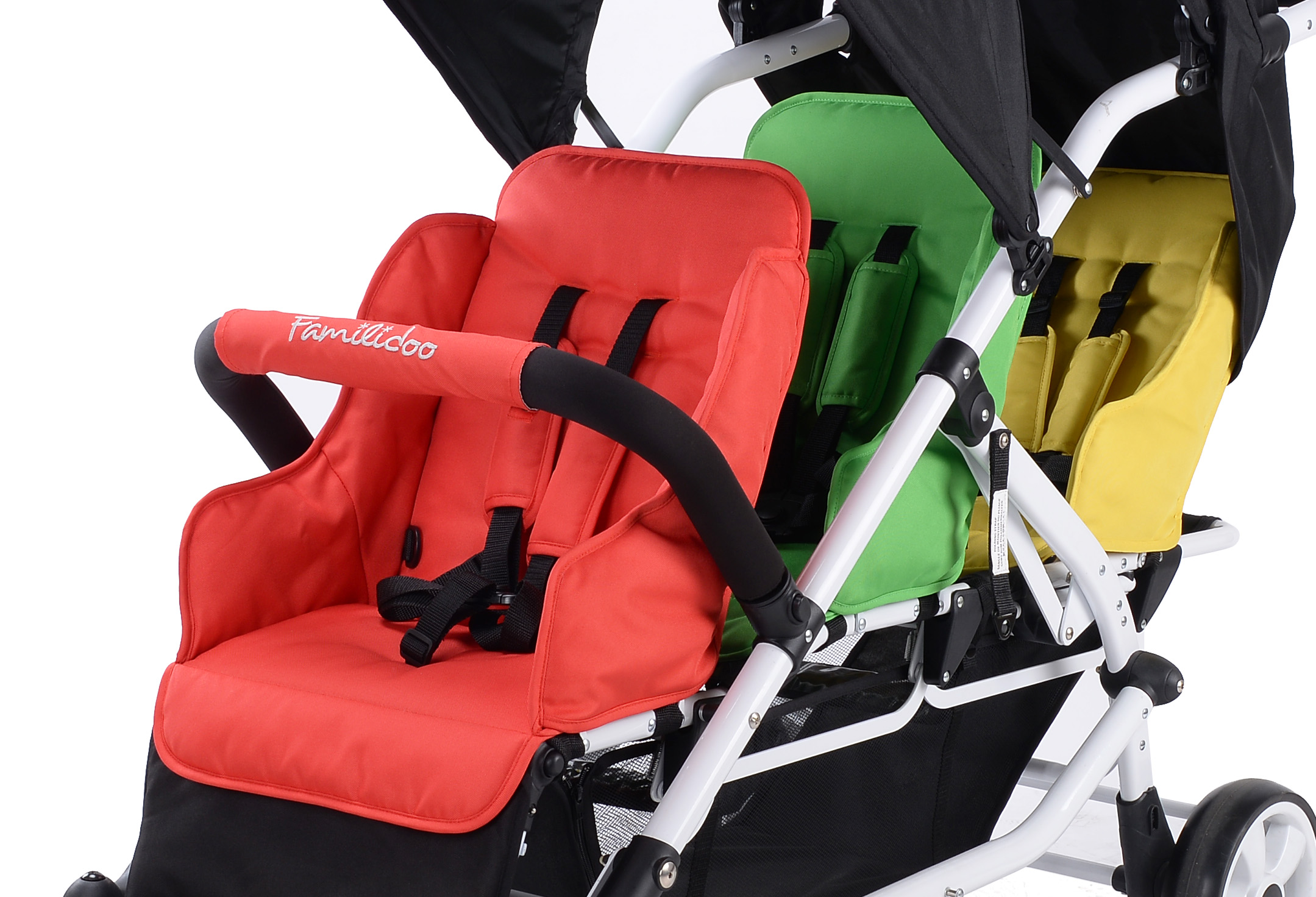 ML03-Familidoo-3 seater pushchair