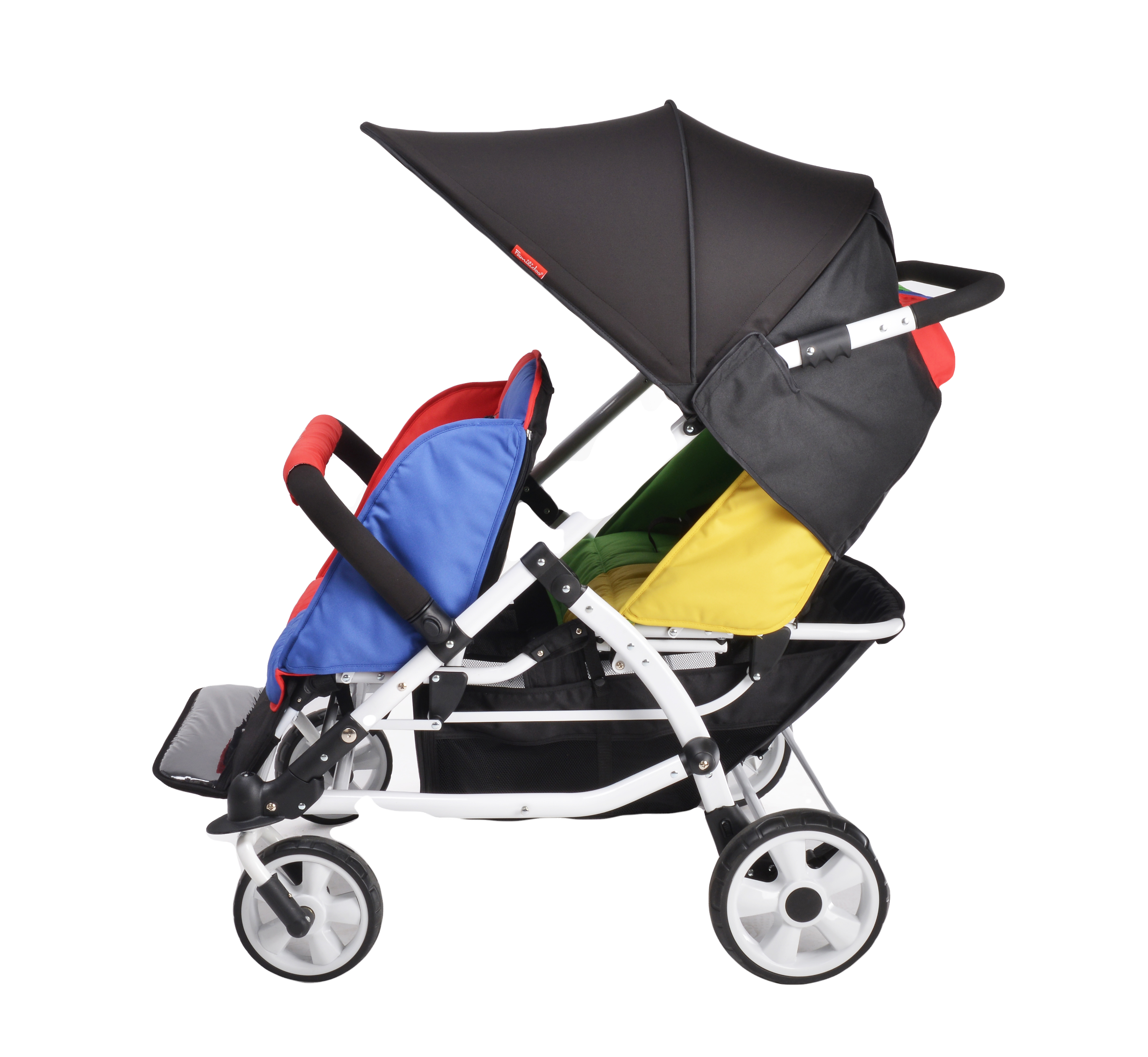M04S-Familidoo-4 seater pushchair
