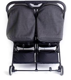Familidoo Air Buggy Twin Denim Grey